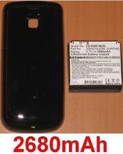 Carcasa Negra + Batería 2680mAh Para HTC MyTouch 3G