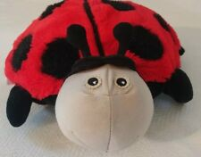 Zoobies Bug Collection Lilly The Ladybug Plush Toy Pet Soft Pillow and Blanket
