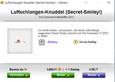 Knuddels.de Smileys Luftschlangen-Knuddel