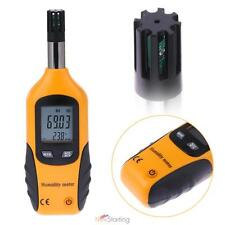 Digital Psychrometer Humidity and Temperature Meter Dew Point Wet Bulb Tester