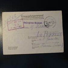 LETTRE PRISONNIER DE GUERRE STALAG II D 19.05.42 KRIEGSGEFANGENENPOST POW