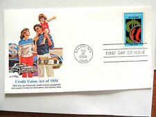"February 10th, 1984 ""Credit Union Act of 1934"" First Day Cover"