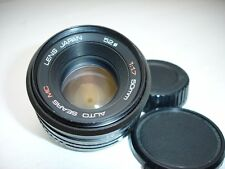 SEARS MC 50mm F 1.7 lens . Pentax K ( PK ) Mount ,  Sn194824