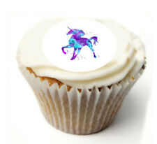 Cupcake Topper  Unicorn personalised Rice, Icing sheet 997