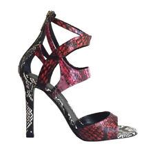"""NIB! $1,195 TAMARA MELLON """"Fatale"""" Ombre Snakeskin Strappy Sandals Size 38.5/8.5"""