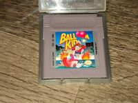 Balloon Kid Nintendo Game Boy w/Case Cleaned & Tested Authentic