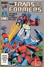 Transformers #12-1986 fn/vf 7.0 Marvel Series Bob Budiansky Herb Trimpe