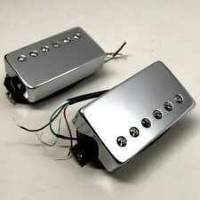 Bare Knuckle Emerald Calibrated Covered Pickup Set 50mm Long Leg Chrome Covers