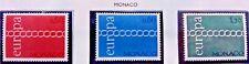 3 X Timbre Stamp Monaco 1971 YT 863 864 865 EUROPA CEPT Neufs