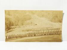 More details for antique military sepia photograph regiment parade #rg1