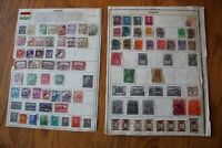 A27 Lot of Hungary Stamps on 5 Minkus binder Pages
