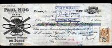 "PARIS (XII°) USINE de SCIES & OUTILS tranchants ""Paul HUG"" en 1926"