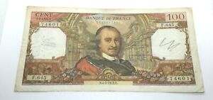100 Francs - Banknote from France (1972)