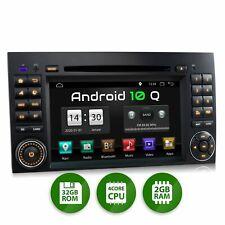 Autoradio DVD GPS Navi 7Zoll Touchscreen Android 10 für Mercedes W169 Bluetooth