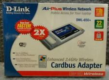 TOP! D-Link AirPlus 2,4GHz Wireless Cardbus Adapter DWL-650+ WiFi Laptop Notbook
