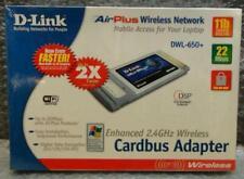 TOP D-Link AirPlus 2,4GHz Wireless Cardbus Adapter DWL-650+ WiFi Laptop Notbook