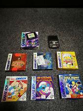 Nintendo Game Boy Color Violett Handheld-Spielkonsole