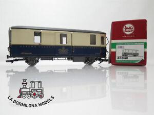 DV378 ESCALA G - LGB 40840 RhB Alpine Classic Pullmann Express Gepäckwagen - OVP