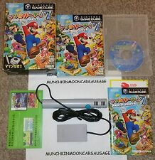 NTSC-J Format Mario Party 7 with Microphone Nintendo Gamecube Very Good Complete