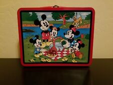 1997 Disney Mickey Mouse And Friends Metal Lunch Box