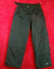 Pulse Mens Black Ski Snowboarding Snow Pants Size Medium