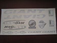 Giant  Stickers Silver, White & Black XTC SE1