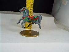 Hallmark Ornament 1989 Carousel Horse Holly 2Nd In Series