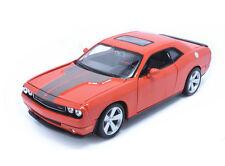 Maisto 1:24 2008 DODGE Challenger SRT8 Diecast metal model car orange new in box