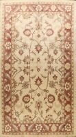 Floral Traditional Peshawar Oriental Area Rug Hand-knotted Wool Dining Room 9x13