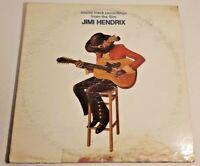 LP Vinyl Sound Track Recordings From The Film Jimi Hendrix 1st Pressing 1973 VG