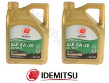 10QT Cont Pack Idemitsu 0W20 Synthetic Engine Motor Oil For Lexus Toyota Scion