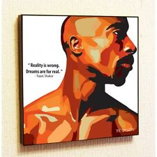 Tupac Shakur Painting Decor Print Wall Art Poster Canvas 2Pac Rap Popart Gift