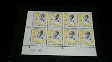 Block of 8 PR of CHINA (-1980-) Clara Zetkin SC. # 1587 MNH