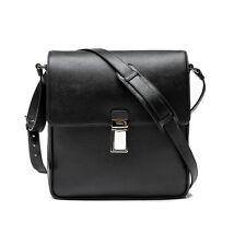 PRADA TEXTURED BLACK SAFFIANO MESSENGER BAG CROSSBODY VA0973-9Z2-F0002 050c6938f48f0