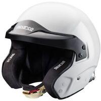Helmet Sparco Pro RJ-3 Open Face FIA SNELL Jet White Rally Race