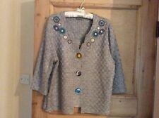 grey Per Una cardigan ,size 18