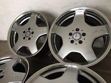 4 orig. AMG Felgen 8,5 + 9,5 x 18 Mercedes W215 W220 R129 W204 W207 W209 W140