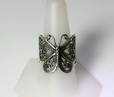 Beautiful Sterling Silver Big Butterfly Ring Size 9.75 – 8512