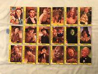 Metro-Goldwyn-Mayer Classic Movie The Wizard of Oz Trading Card Set SEE DESC