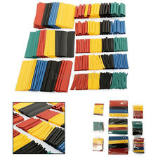 8 Sizes 328 Pcs 5 Colors Assorted 2:1 Heat Shrink Tubing Wrap Sleeve Kit top