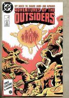 Batman And The Outsiders #39-1986 vf/nm 9.0 Jim Aparo Black Lightning