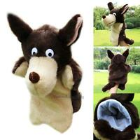 Wolf Cartoon Hand Glove Puppet Plush Puppets Kids Toy Role Pretend Play Toys