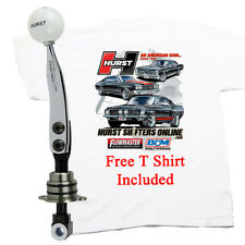Hurst 2010-2015 Camaro 6 Speed Shifter W White Knob & FREE T SHIRT , 2009 GPX