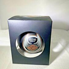 Harley Davidson 105 Years Anniversary Ornament 1903 -2008 In Box
