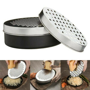 Cheese Grater Vegetable Fruit Food Stainless Steel Grater with Container Kitchen