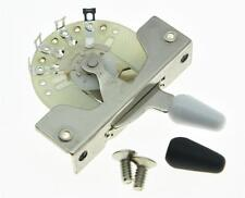 Strat Tele 5 Way Guitar Pickup Selector Switch CRL Style Switches w/ Tips Screws