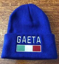 GAETA, Italy Beanie -Blue