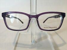 BCBG Maxazria Silvia Women's Plastic Eyeglass Frame- Lilac Smoke 53-17 NEW!