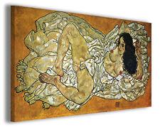 Quadro moderno Egon Schiele vol XXIV stampa su tela canvas pittori famosi