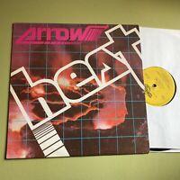 ARROW heat NM lp calypso reggae orig vinyl west indies 1983 Jamaica 021 soca !!